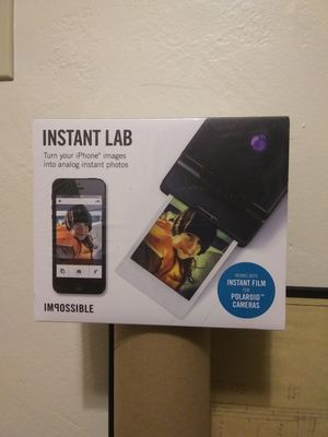 Impossible Project Instant Lab for Sale in Redlands, CA