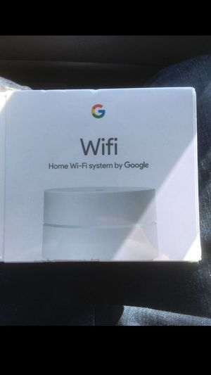 Google Wifi Home System router for Sale in Happy Valley, OR
