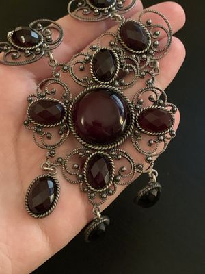 Gorgeous cherry amber statement necklace for Sale in Aurora, IL