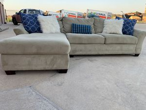 Can deliver - super comfy sectional couch sofa for Sale in Burleson, TX