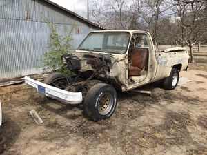 1980 c20 Chevy Gmc pickup cab and chassis for Sale in Modesto, CA