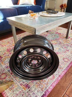 """*BRAND NEW* ONE 15"""" black steel rim for Sale in West McLean, VA"""