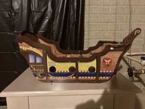 Wooden Pirate Ship Toy for Sale in OH, US