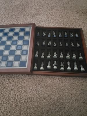 Civil war stonewall Brigade chess set for Sale in Glendale, AZ