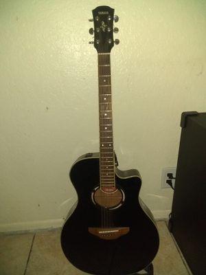 Yamaha guitar acoustic/electric for Sale in Phoenix, AZ
