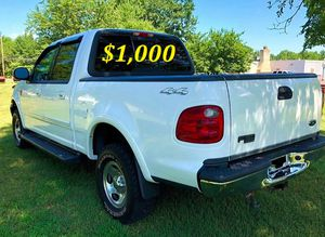 🟢💲1,OOO For sale URGENTLY this Beautiful💚2002 Ford F150 nice Family truck XLT Super Crew Cab 4-Door Runs and drives very smooth V8🟢 for Sale in El Segundo, CA