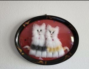Cat Wall Decor Frame for Sale in Santa Ana, CA