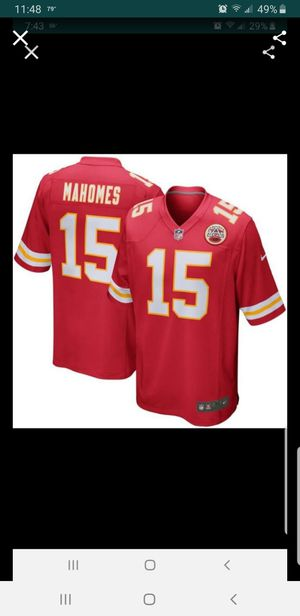KC CHIEFS MAHOMES JERSEY SIZE SM-3XL 100% STITCHED for Sale in Colton, CA