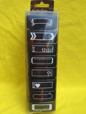 Scrapbook crafts self inking stamps you customize for Sale in Pinellas Park, FL
