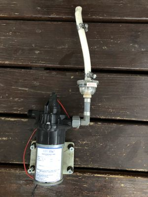 Water pump camper/rv with manual for Sale in Lancaster, PA