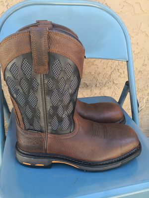 Ariat composite toe work boots size 8.5 D for Sale in Riverside, CA