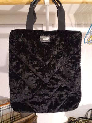 Victoria Secret velvet tote bag. for Sale in Phoenix, AZ