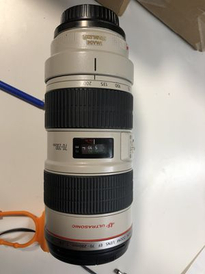 Canon 70-200 2.8 IS for Sale in Chicago, IL