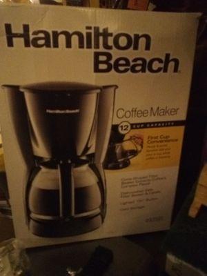 Hamilton Beach 12 cup Coffee Maker for Sale in Ivor, VA
