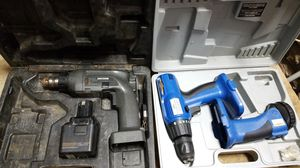 2 drill sets missing chargers as is! for Sale in Canal Winchester, OH