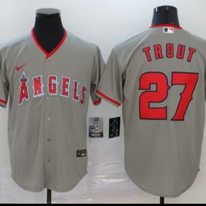 STITCHED MIKE TROUT ANGELS BASEBALL JERSEY for Sale in Camp Pendleton North, CA