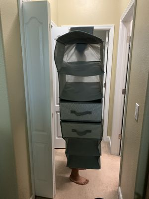 Hanging closet organizer for Sale in Riverview, FL