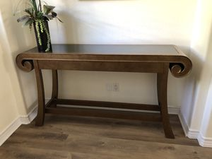 Console Table with Marble Top for Sale in Encinitas, CA