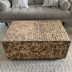 Wood Block Coffee Table for Sale in Tigard,  OR