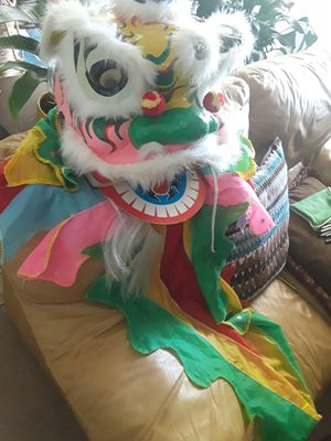 Chinese dragon mask for Sale in Alexandria, VA
