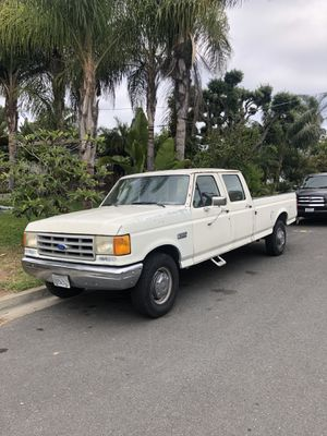 1990 Ford F-350 crew cab long bed for Sale in Encinitas, CA