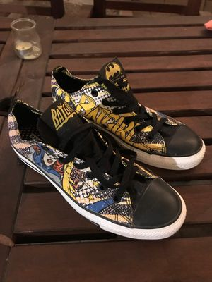 Converse Batgirl Shoes men's 8 women's 10 for Sale in Los Angeles, CA
