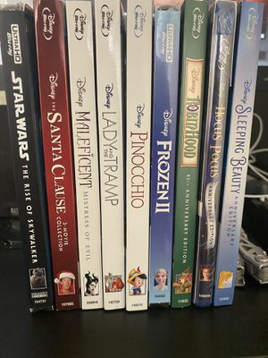 4K and blu ray movies for Sale in San Antonio, TX