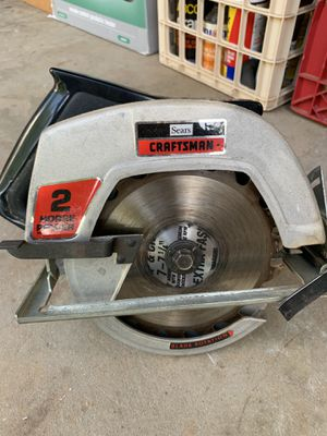 """Craftsman Table Saw with two 7"""" blades for Sale in Lawrenceville, GA"""