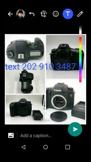 Canon 7d body like new for Sale in Gaithersburg, MD