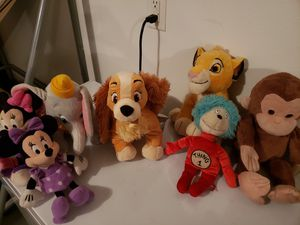 Assorted Plush set for Sale in Ruskin, FL
