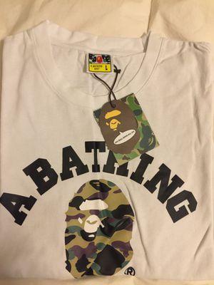 Bape Camo Collegiate Tee Shirt (Size L) for Sale in Dallas, TX