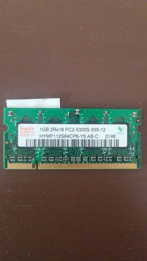 1GB 2Rx18 pc2 5300s for Sale in Minneapolis, MN