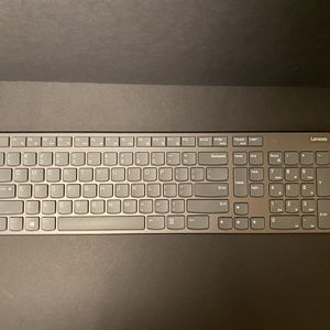Lenovo Ultraslim Wireless Keyboard for Sale in San Antonio, TX