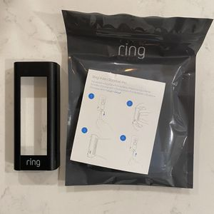 Ring Doorbell Pro Faceplate (Black) for Sale in Pelham Manor, NY