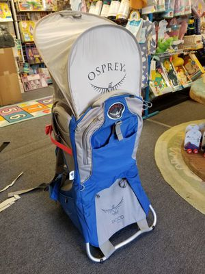 Osprey Poco Plus Hiking child carrier Backpack 16-48lbs for Sale in Seattle, WA
