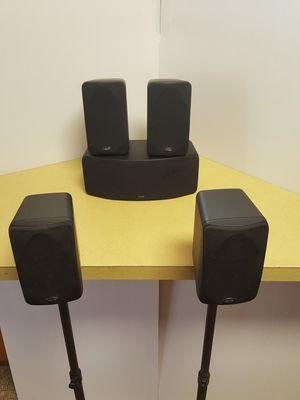 Polk Audio 5 Speaker Satellite Surround Sound System for Sale in Boulder, CO