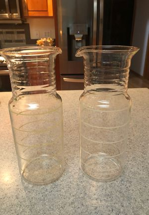 Pyrex carafes vintage for Sale in Puyallup, WA