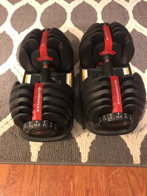 Bowflex Adjustable Dumbbells for Sale in Worth, IL
