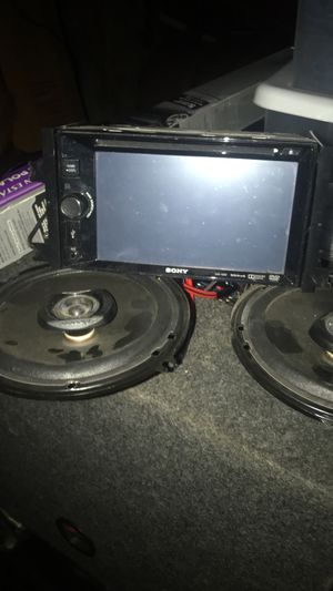 Sony Double Din Deck for Sale in Rock Island, IL