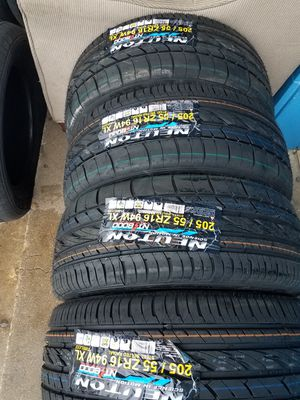 205 55 16 new tires for Sale in Terrell, TX