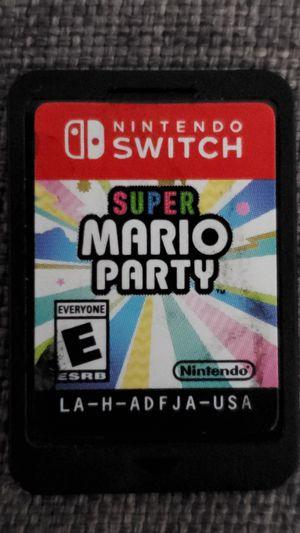 Nintendo Switch Super Mario Party for Sale in Santa Ana, CA