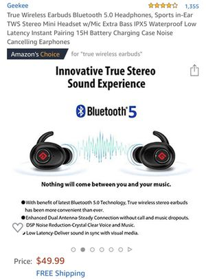 Earbuds Bluetooth for Sale in Edgemoor, DE