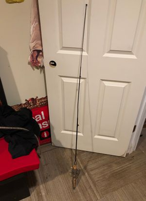collapsing vintage bait casting fishing rod and reel for Sale in Countryside, IL