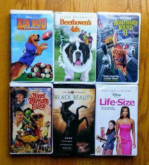 Classic vintage original Disney VHS video cassette children's movies films cinema for Sale in San Mateo, CA