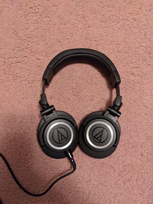 Audio-technica ATH-M50x Professional Monitor Headphones for Sale in San Francisco, CA