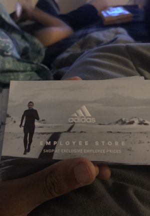 Adidas employee store passes!!! Need gone for Sale in Portland, OR