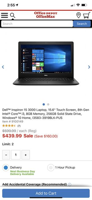 Dell touch screen windows 10 includes key office 365 for Sale in Vancouver, WA