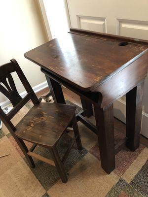 Antique Student Desk for Sale in Marietta, GA