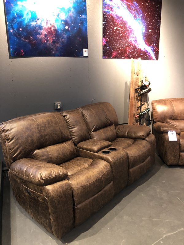 New & In Stock! Reclining Sofa Or Loveseat $599! $799 For Power