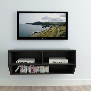 Brand New Wall Mounted TV Cabinet Stand Media Storage Floating Flat Screen TVs Shelf Shelves for Sale in Sacramento, CA